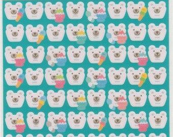 Polar Bear Stickers - Kawaii Japanese Stickers - Reference C1769