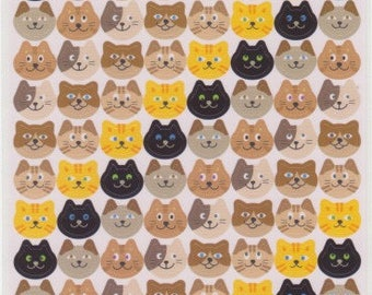 Cat Stickers - Cat Schedule Stickers - Reference C51337C6434-35