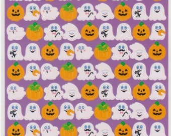 Halloween Stickers - Pumpkin Stickers - Ghost Stickers - Reference T4724-28