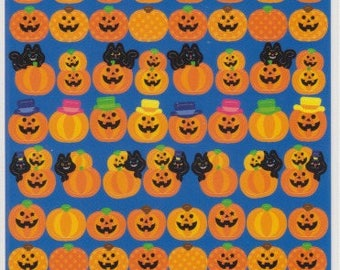 Halloween Stickers - Pumpkin Stickers - Reference T4720-23