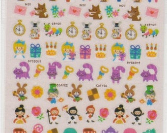 Fairy Tale Stickers - Japanese Stickers - Mind Wave Stickers - Reference A4846-49