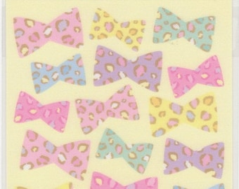 Ribbon Stickers - Fabric Feel - Mind Wave - Reference A4524