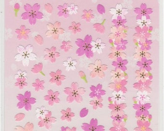 Cherry Blossom Stickers - Sakura Stickers -  Paper Stickers - Reference A4140-41