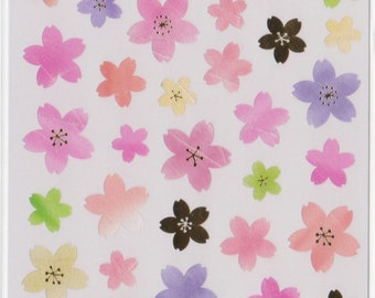 Sakura Cherry Blossom Stickers - Mind Wave Stickers - Reference A3424