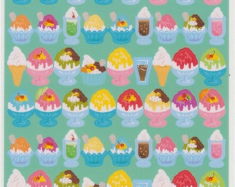 Dessert and Icecream Stickers - Reference C5979-80C6510-12