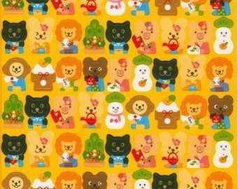 New Year Stickers - Animals Stickers - Kawaii Japanese Deco Seals 81 Peel Off Stickers
