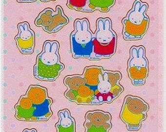 Miffy Stickers - Miffy and Family - Hallmark - Reference H3270-71A3779