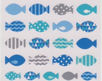 Fish Stickers - Mind Wave Stickers - Reference M4473