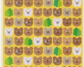 Bear Stickers - Kawaii Japanese Stickers - Reference C3638A6372