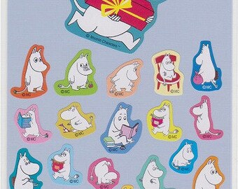 Moomin Stickers - Reference A3541A3693-94A6558
