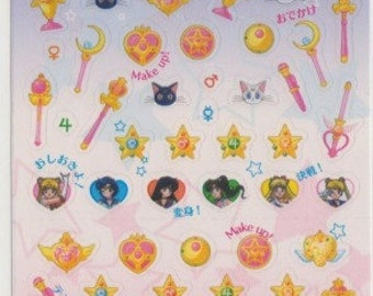 Sailor Moon Icon Schedule Stickers - Reference A5268-69A6418A6666