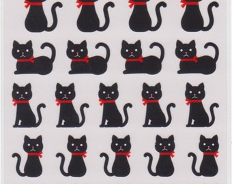 Cat Stickers - Mind Wave Stickers - Reference A3724-26