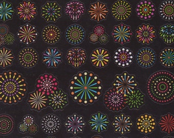 Fireworks Stickers - Japanese Stickers - Reference C6501-06