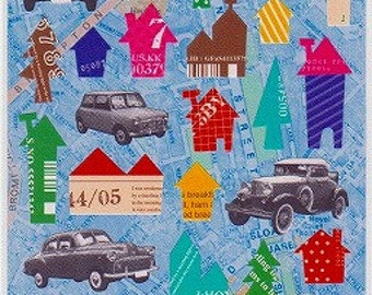 Car Stickers - Town Stickers - Petit Poche Mind Wave Stickers - Reference F284F376F543