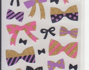 Ribbon Stickers - Glitter Stickers - Mind Wave Stickers - Reference F394F519F761F923-24F1241F1618F1742F2745-46