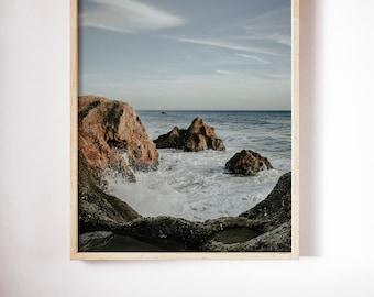 Ocean Print, Ocean Wall Art, Ocean Waves Print, Ocean Photography, Printable Wall art, Sea Waves Art, Ocean Poster Art, Sea Photography Art