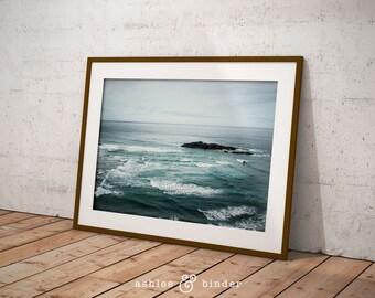 Ocean Waves Print, Printable, Wall Art, Wall Decor, Printable Art, Home Decor, Art Print, Poster, Rustic Decor, Decor, Instant Download, Art