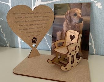 Admirable Dog On Rocking Chair Etsy Frankydiablos Diy Chair Ideas Frankydiabloscom