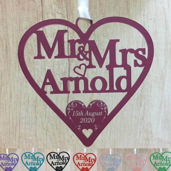 Personalised Wedding Gift Horseshoe Alternative Bridal Gifts Etsy