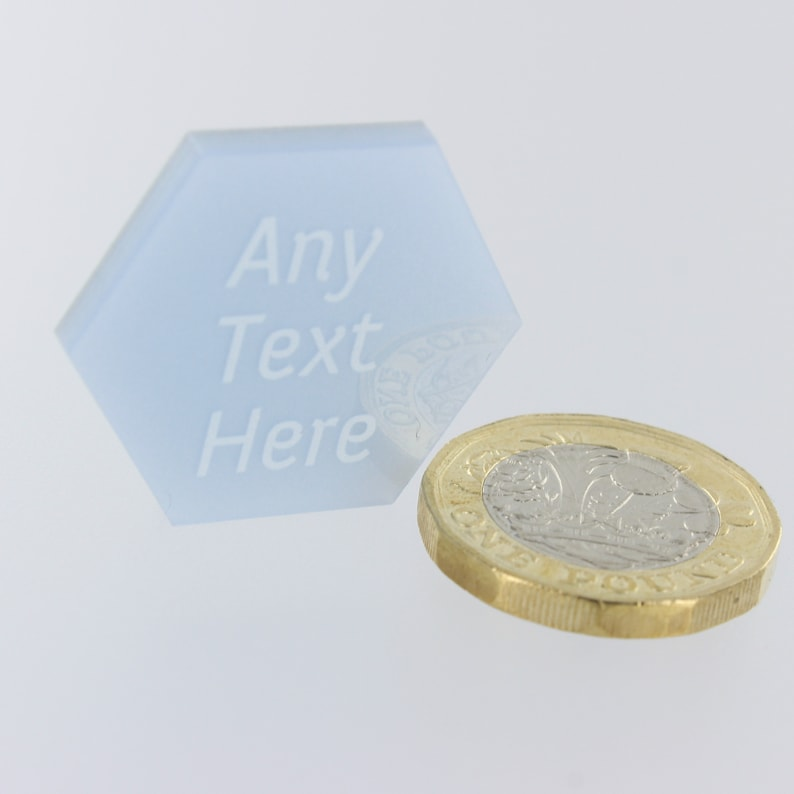 Wedding Favours Geometric Table Decorations Personalised Mr and Mrs Modern Hexagon Party Decor Confetti Geo Centrepiece LittleShopOfWishes