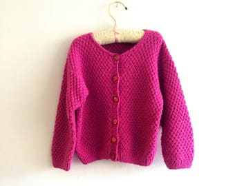 dccd1fa78d98 Girls knit sweater