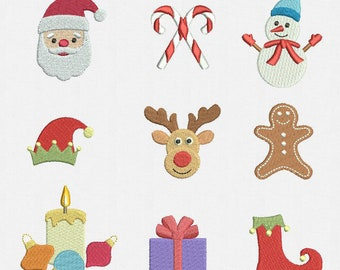 Machine Embroidery Designs Christmas Etsy