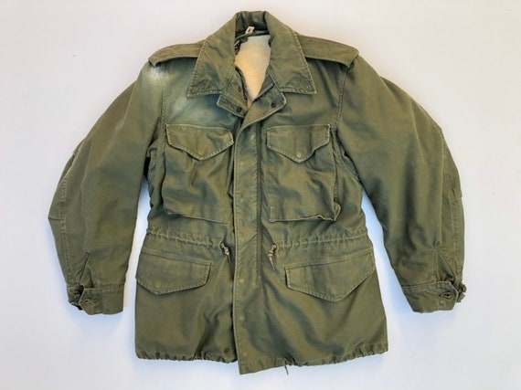 Korean War M-51 Field Jacket Olive Green Army Coat