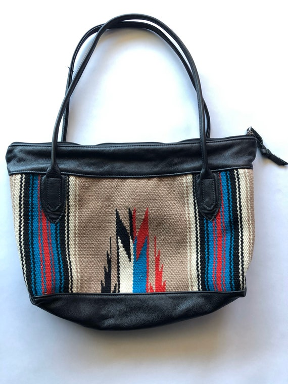 Ortega's Chimayo Southwest Boho Purse Handbag