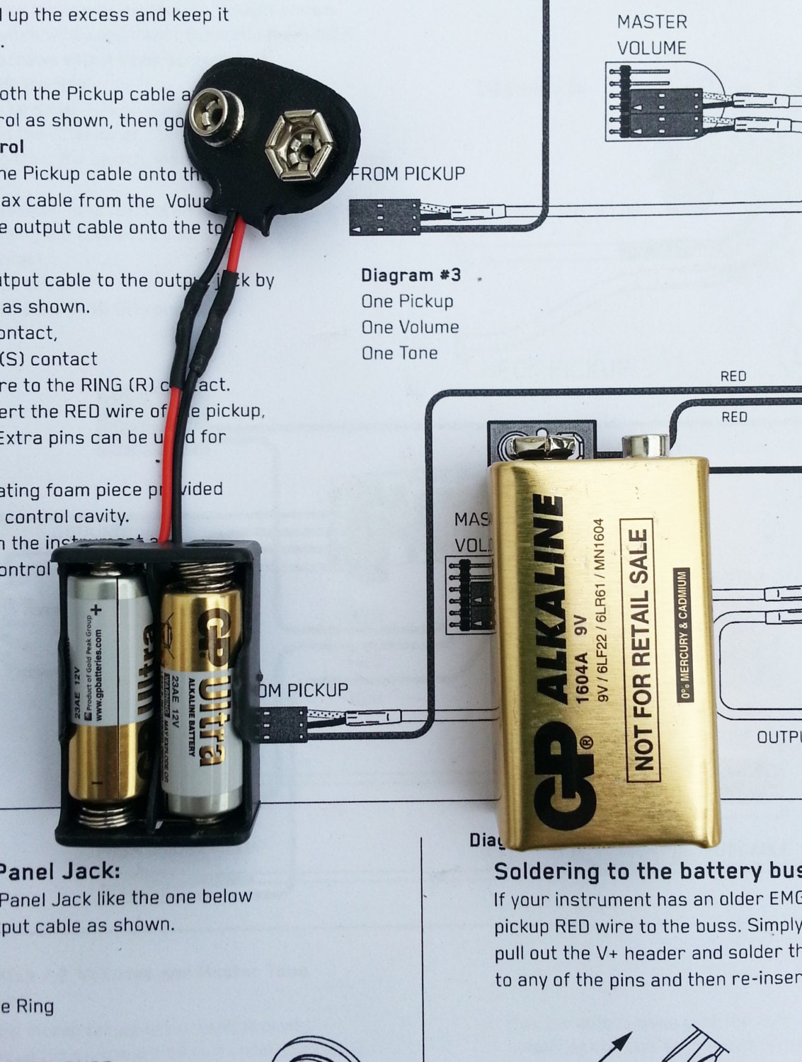 Pleasant Emg 24 Volt Solderless Active Pickup Mod For 60 81 85 And 89 Etsy Wiring Database Ittabxeroyuccorg