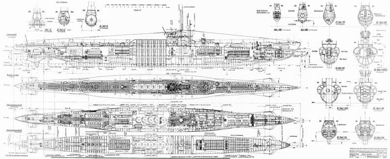 world war 2 german u 965 type viic u boat blue etsy