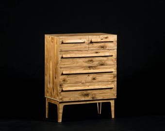 Kesselhaus plywood chest of drawers