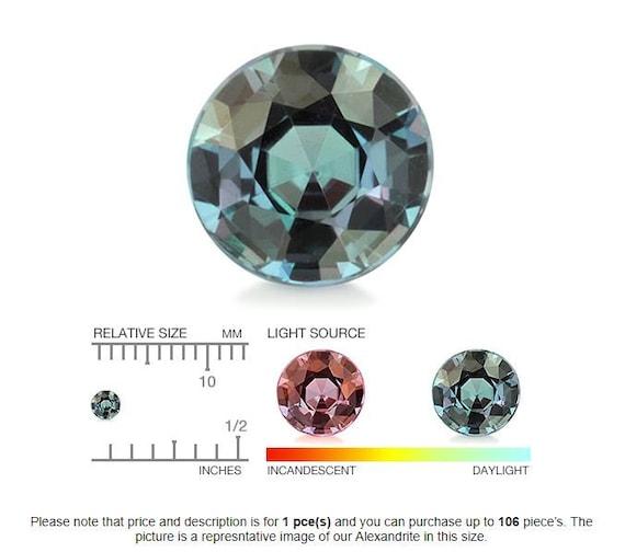 9.00 Karat Trillion Form Alexandrit Farbwechsel Natürlich Unglaubliche Edelstein