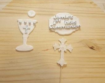 Fondant Communion Set