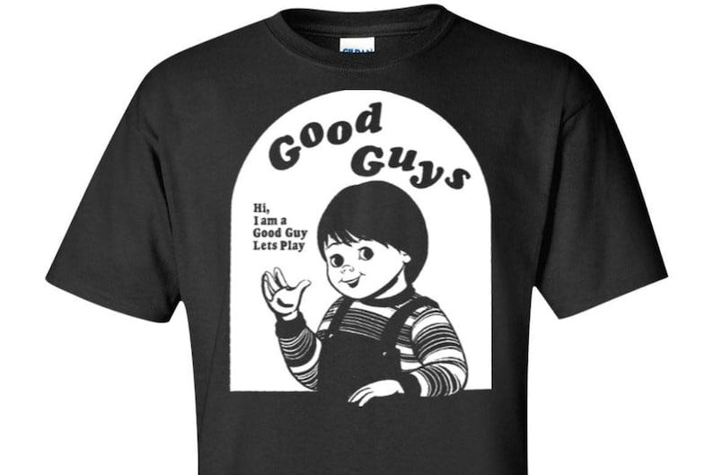 bda4fc81d Chucky Child's Play Tall Tee | Etsy