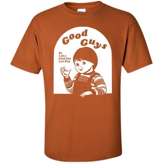Childs Play Chucky Good Guys Youth TShirt Etsy - Good guy shirt
