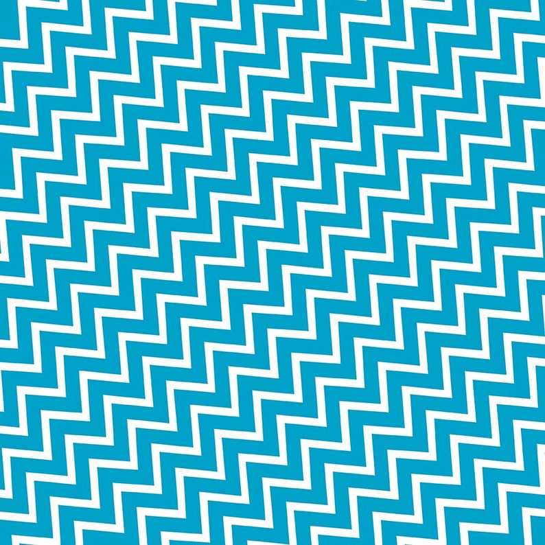 Blue Turquoise Chevron Digital Paper 20 Chevron Scrapbook Paper Pack DOWNLOAD Pattern Printable Wrapping Graphics 12x12 JPG PDF