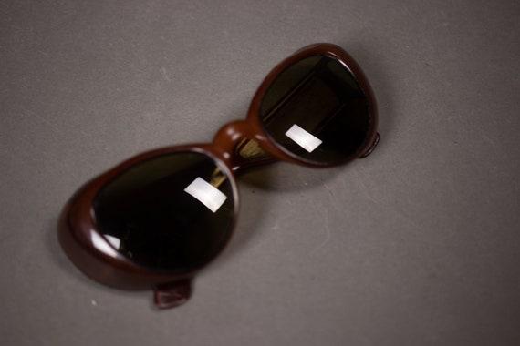 1960's Brown Cateye Sunglasses
