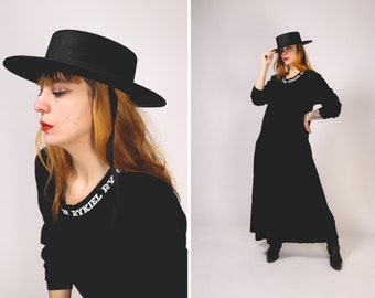 RARE 1980s SONIA RYKIEL Velvet Dress - Size M/L