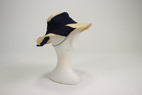 1940's Side Summer Straw Hat - image 6