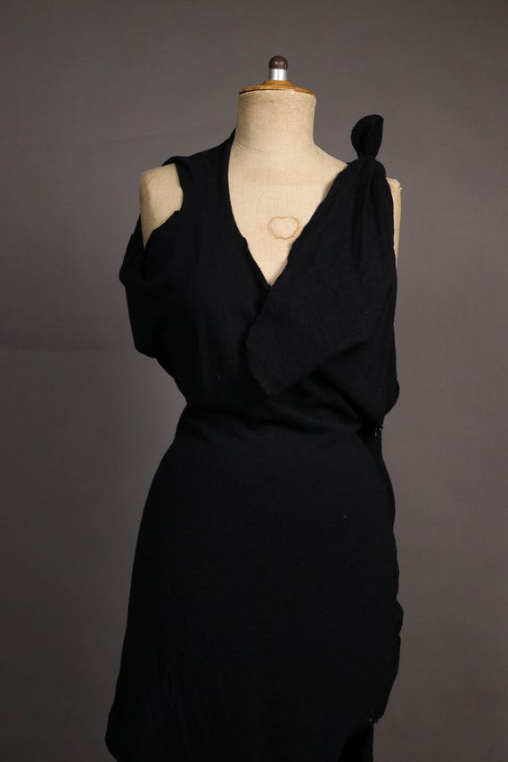 1990's Vivienne Westwood abstract dress - image 3