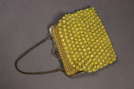 1960's Beaded Crochet Bag