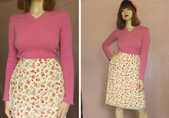 1990's ALAÏA Pink Cashmere Sweater - Azzedine ALAI