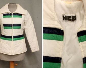 1960's -1970's Henri Charles Colsenet Ski Jacket Coat - Size S