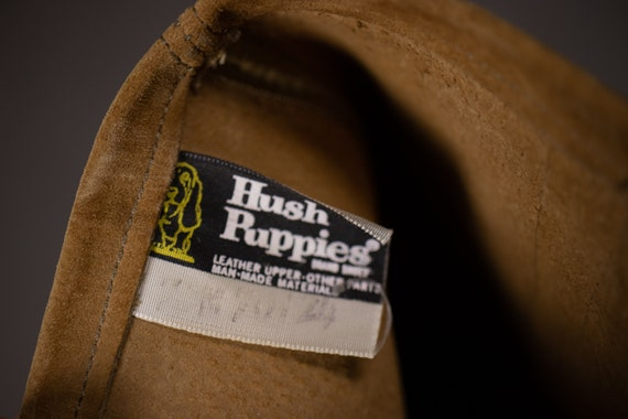1960's HUSH PUPPIES Tan Suede Leather Gogo Boots … - image 10