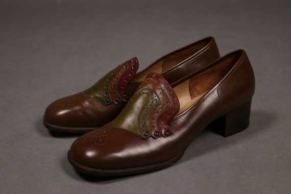 1960's Brown Leather Shoes