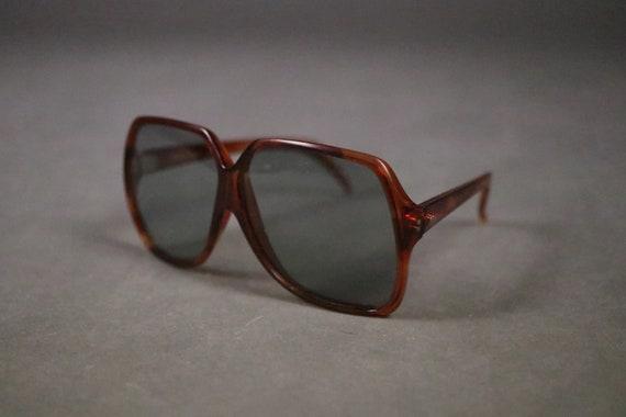 1970's MAURITIUS  Brown Oversized Sunglasses