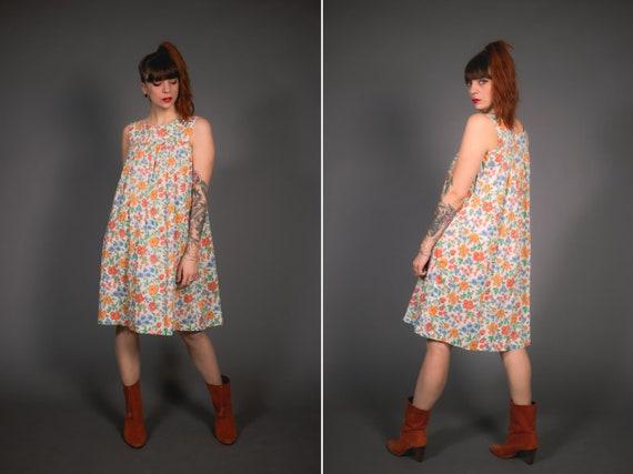 1970's Floral Dress