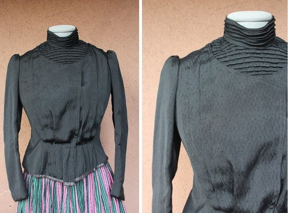Vintage 1800's Victorian Jacket – 1889 Victorian B