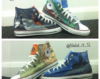 Hand Painted, Custom Design, Any Theme, Converse/Vans/Toms