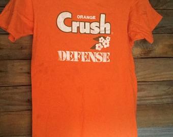 86d779ab Vintage Orange Crush Broncos Defense Women's T-Shirt